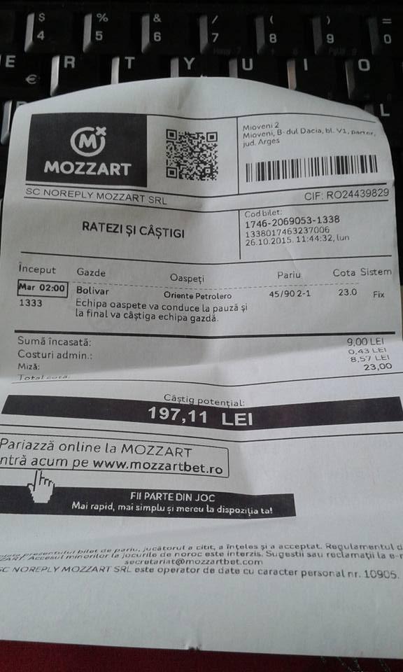 Bilete Pariuri : Madalin propune 2 meciuri Pauza Final !