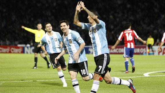 Ponturi pariuri Paraguay vs Argentina – Preliminarii CM 2018