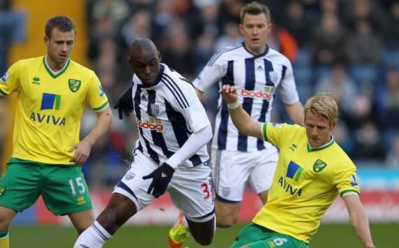 Norwich vs West Bromwich