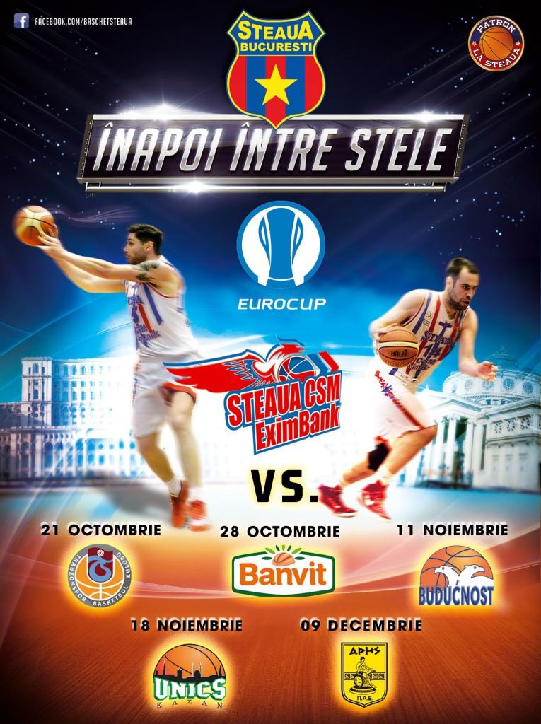 Ponturi baschet - Unics Kazan vs Steaua Turabo - Eurocup