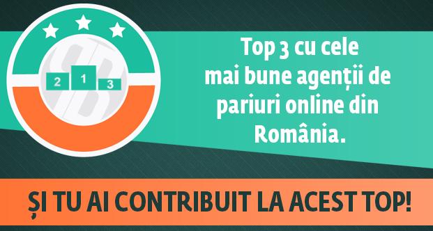 Top 3 case de pariuri online licentiate in Romania