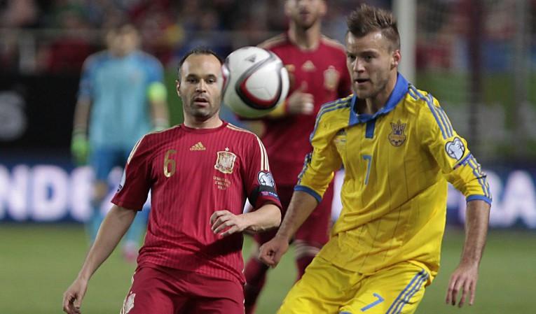 Ponturi pariuri – Ucraina vs Spania – Calificari Euro 2016