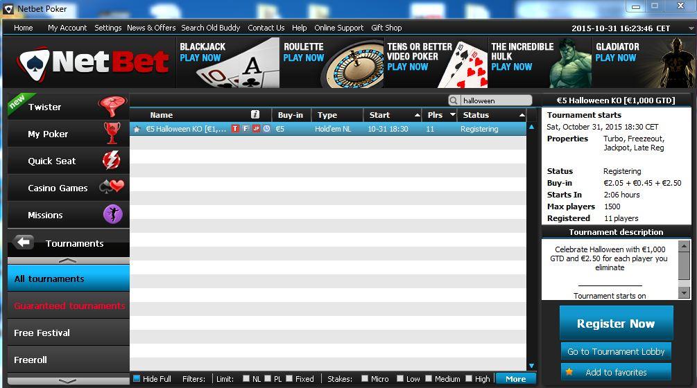 turneu poker online netbet