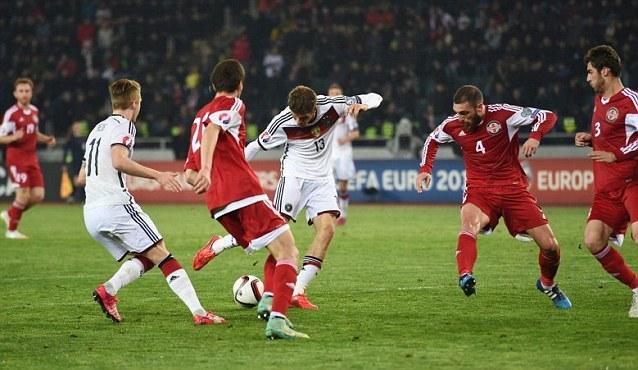 Germania vs Georgia