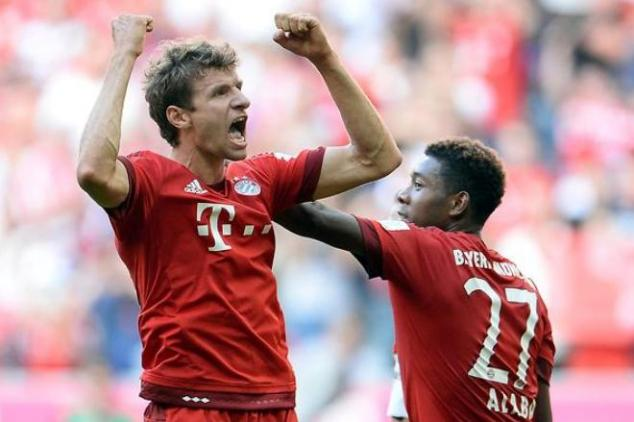 Bayern Munchen vs Olympiakos