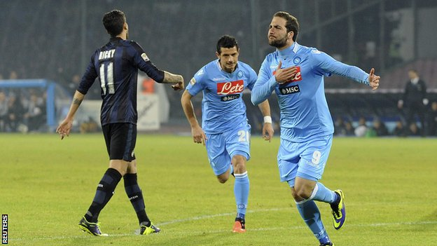 Napoli vs Inter