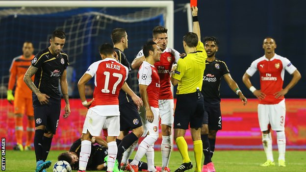 Arsenal vs Dinamo Zagreb