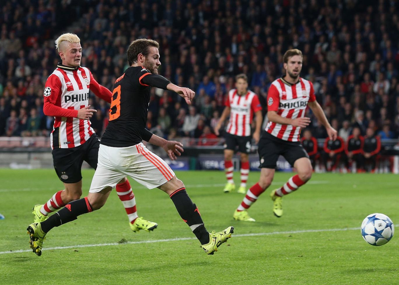Manchester United vs PSV