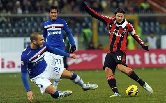 Milan vs Sampdoria