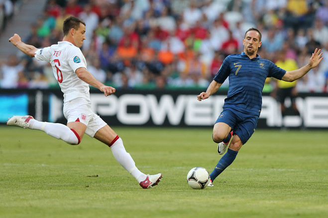 Anglia vs Franta