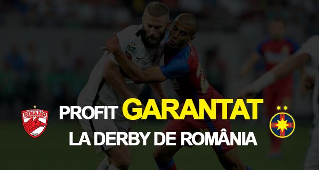 Profit garantat la Dinamo – Steaua cu promotiile de la pariuri online