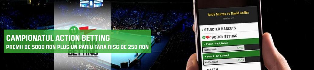 Tenis : Turneul Campionilor – promotie de 5000 ron de la Unibet