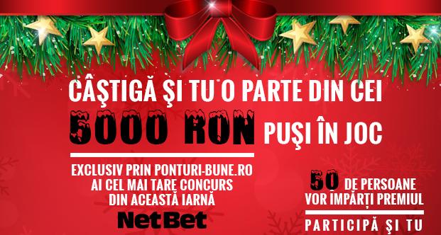 Super Concurs Netbet: 5000 Ron Garantati!