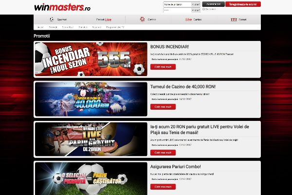 Winmasters Promoții