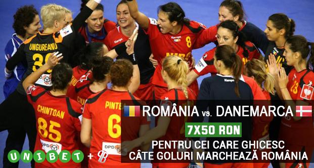Castiga unul din cele 7 bonusuri de 50 RON la Romania – Danemarca