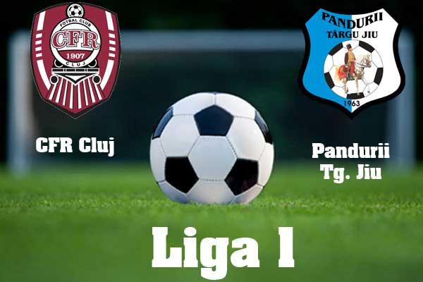 CFR Cluj vs Pandurii Tg-Jiu