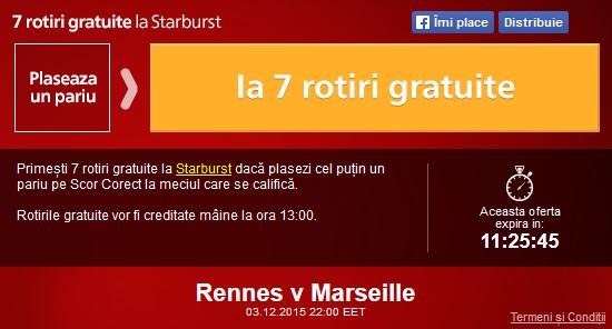 Meciul zilei - Rennes vs Marseille
