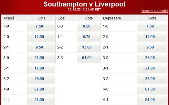 Meciul zilei - Southampton vs Liverpool - 7 rotiri gratuite