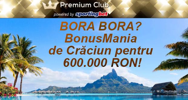 Editie speciala de Craciun la Premium Club Sportingbet