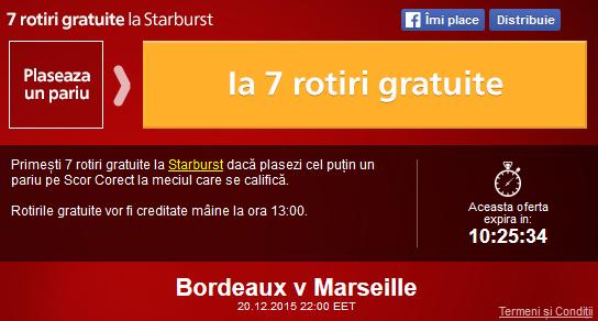 Meciul zilei - Bordeaux vs Marseille