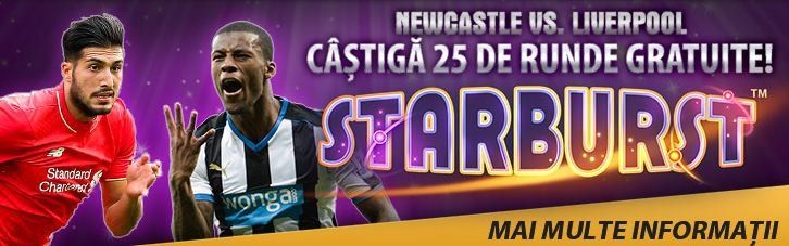 25 de runde gratuite la Newcastle vs. Liverpool