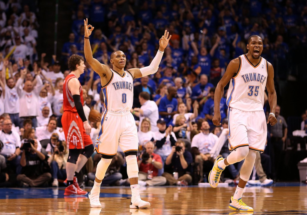 Durant si Westbrook