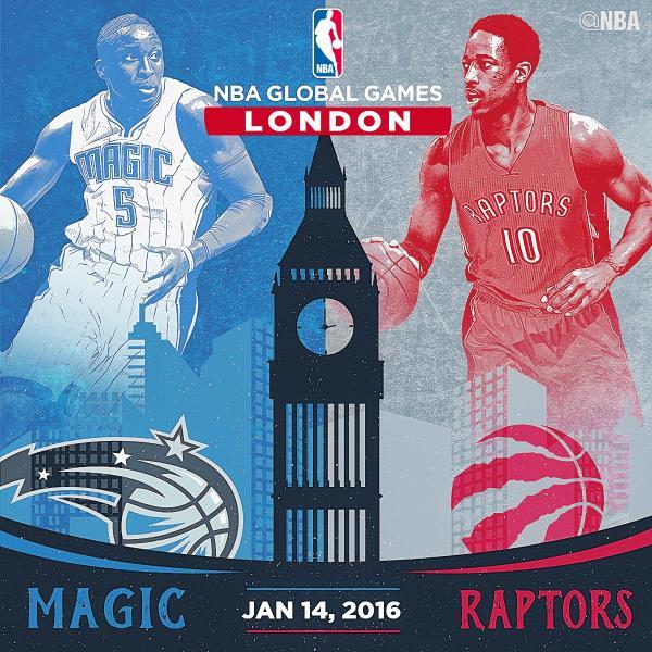 Ponturi baschet - Magic se dueleaza cu Raptors in Londra