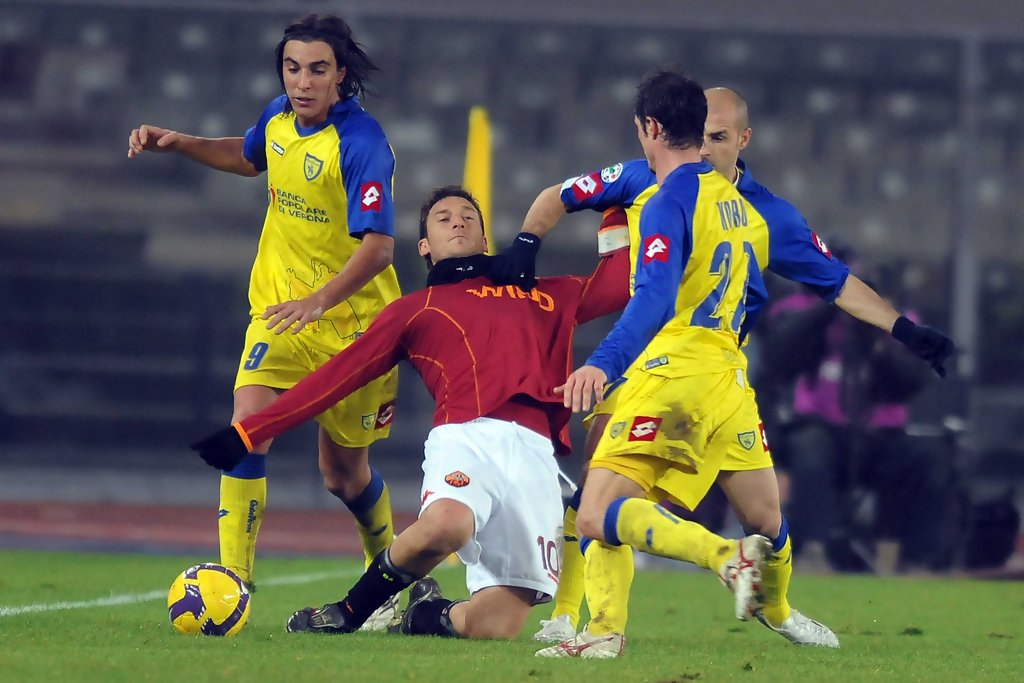 Chievo vs Roma