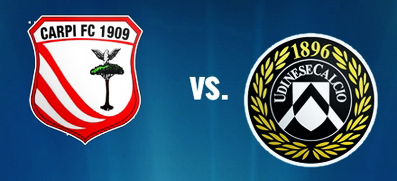 Carpi vs Udinese