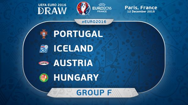 Campionatul European din 2016: Program Grupa F