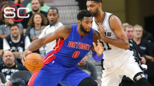 Pistons vs Spurs