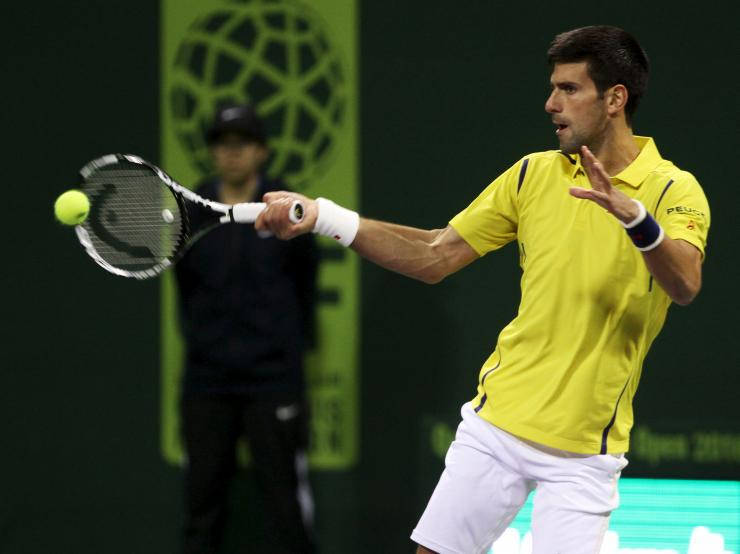 Novak Djokovic vs Quentin Halys