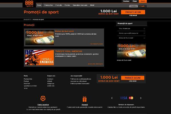 888Sport Promoții