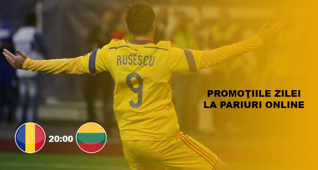 Cele mai bune promotii si bonusuri la pariuri online pentru Romania – Lituania
