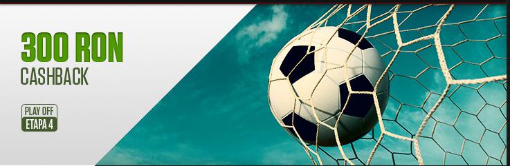 300 RON rambursare Liga 1
