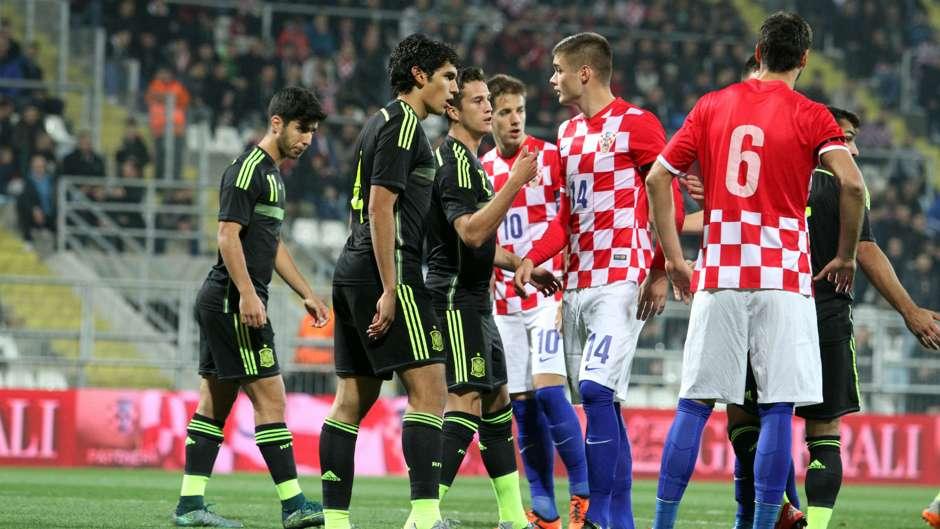 Spania U21 vs Croatia U21