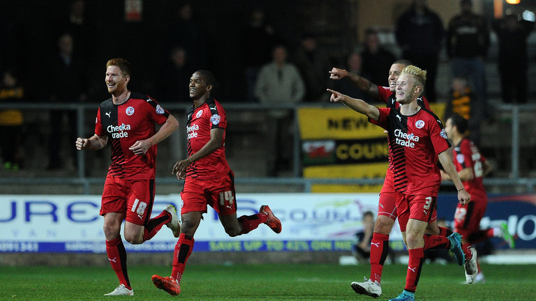 Crawley Town vs Exeter