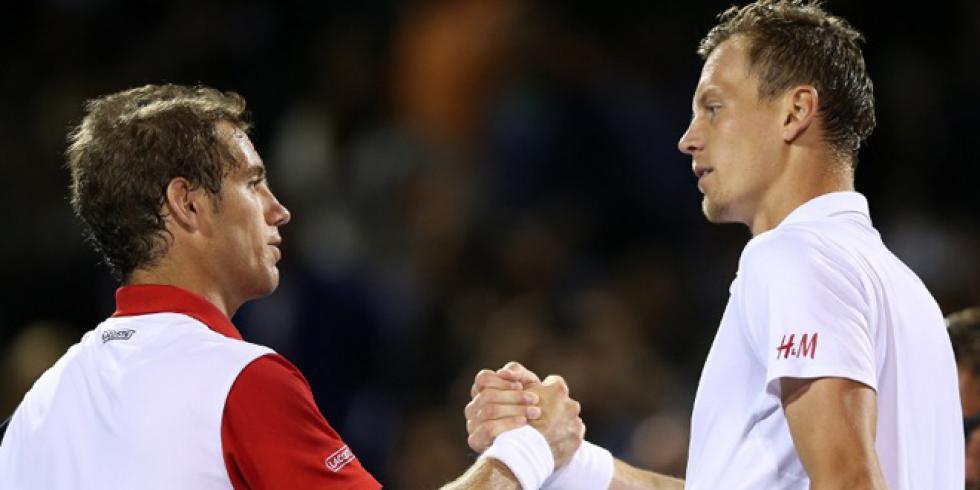 Gasquet vs Berdych
