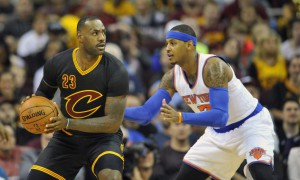 USP NBA: NEW YORK KNICKS AT CLEVELAND CAVALIERS S BKN USA OH