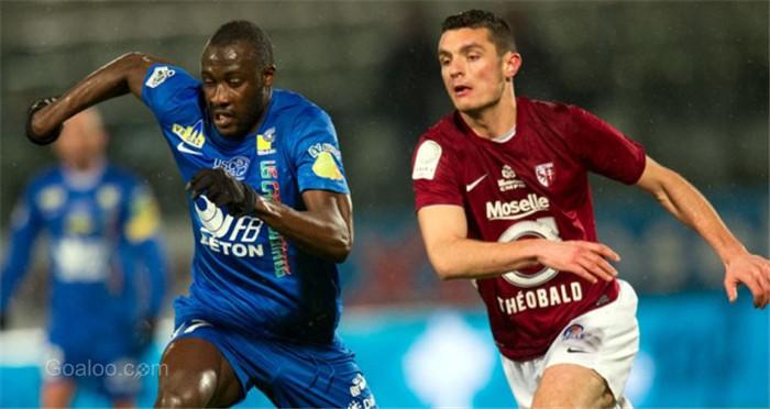 Auxerre vs Metz