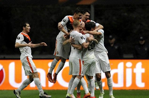 Sahtior Donetsk vs Braga