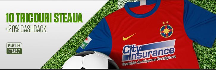Tricouri Steaua si Cashback