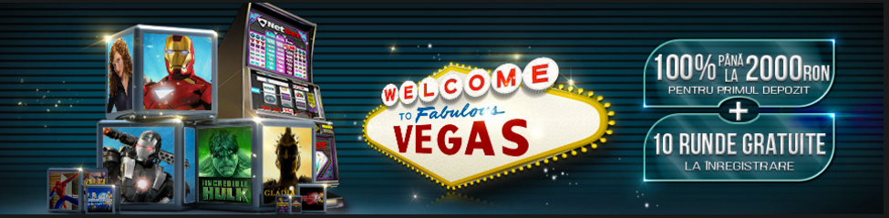 2000 RON bonus primul depozit Vegas Netbet