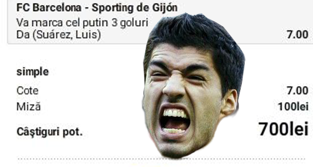 """Un parior are incredere in """"fiara"""" Suarez"""