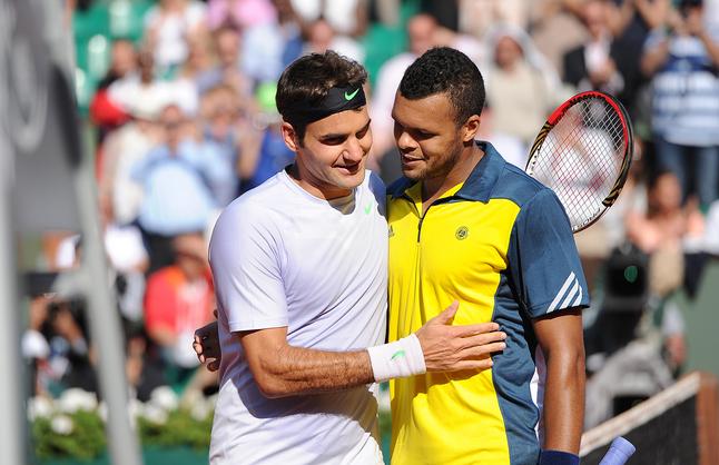 Roger Federer vs Jo-Wilfried Tsonga