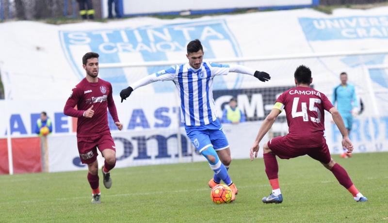 Ponturi pariuri – CS Universitatea Craiova vs CFR Cluj – Liga 1