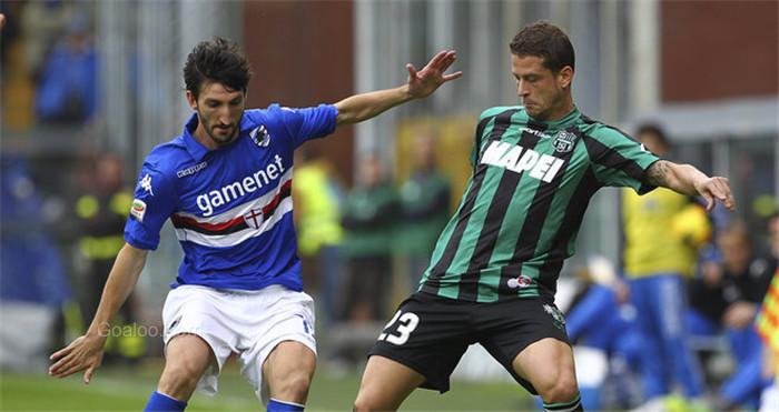 Ponturi fotbal Sassuolo vs Sampdoria – Serie A
