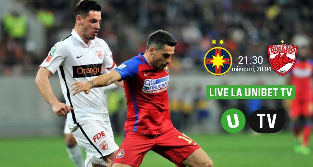 Promotii si bonusuri la pariuri online pentru Steaua – Dinamo