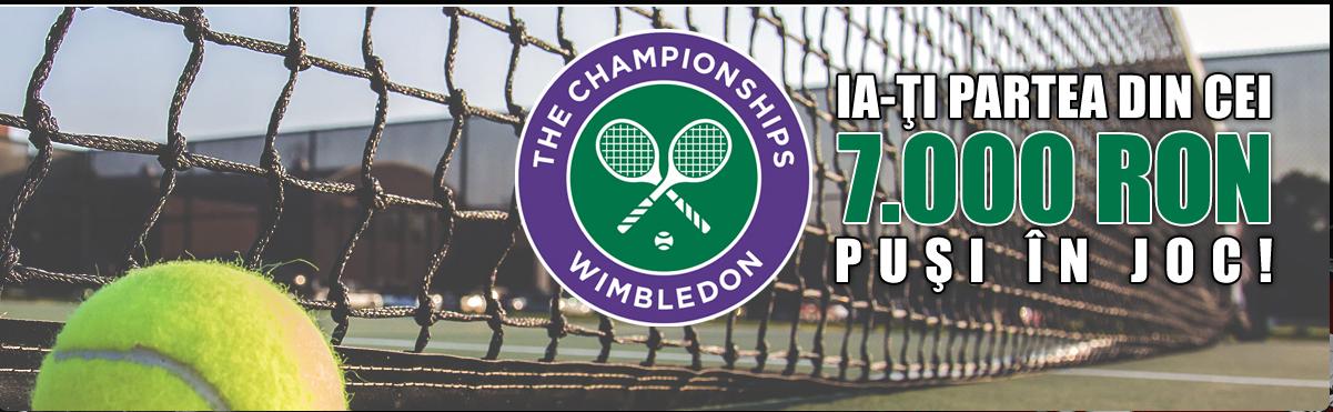 Turneul de la Wimbledon iti poate aduce 2 500 RON