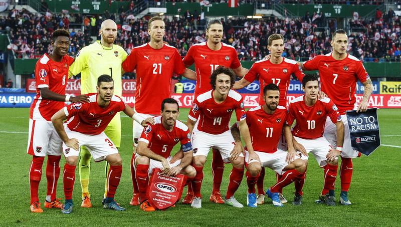 Euro 2016   Lotul Austriei